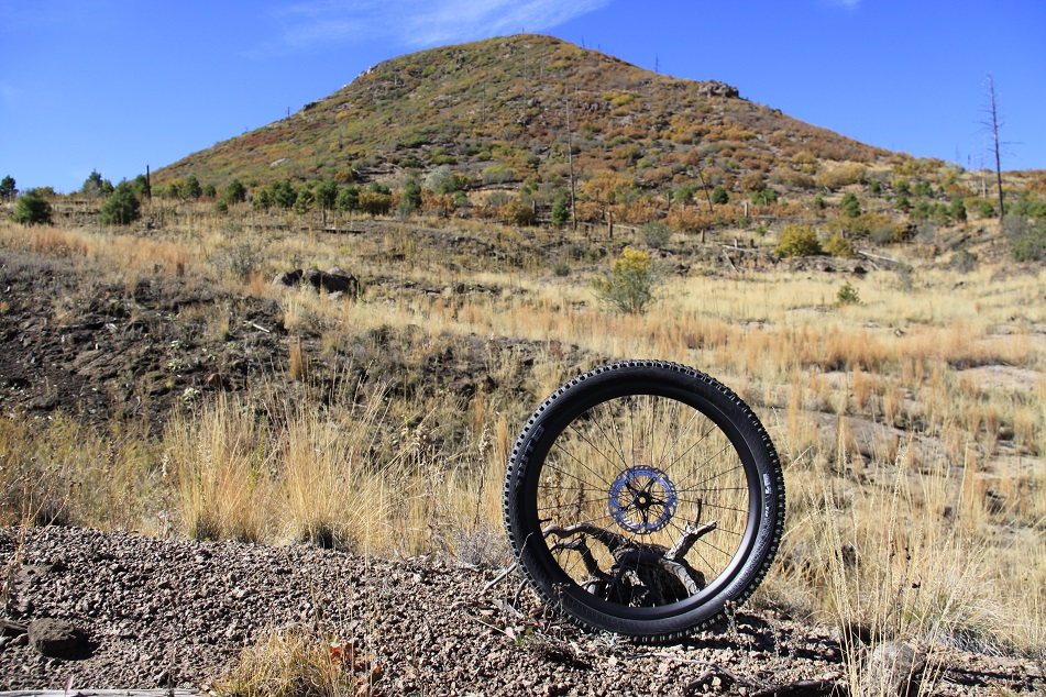 Wheel on the mountain