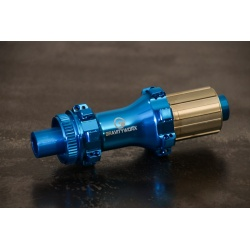 28 spoke straight pull rear disk hub 135/142mm